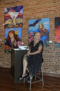 Dr. Kyra Belan at Arts for ACT Gallery in September